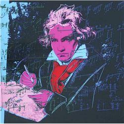 "Andy Warhol- Screenprint in colors ""Beethoven 392, 1987"""
