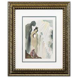 "Salvador Dali- Original Color Woodcut on B.F.K. Rives Paper ""Purgatory 13"""