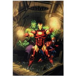 """Marvel Comics """"Secret Invasion #7"""" Numbered Limited Edition Giclee on Canvas by Leinil Francis Yu wi"""