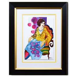 "Patricia Govezensky- Original Watercolor ""Luna"""