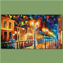 """Leonid Afremov (1955-2019) """"Infinity"""" Limited Edition Giclee on Canvas, Numbered and Signed. This pi"""