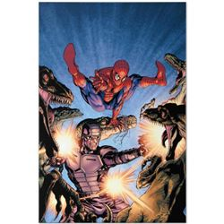"Marvel Comics ""Heroes For Hire #7"" Numbered Limited Edition Giclee on Canvas by David Yardin with CO"