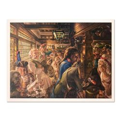 "Virginia Dan (1922-2014), ""Yankees Tavern 1776"" Limited Edition Lithograph, Numbered and Hand Signed"