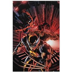 "Marvel Comics ""New Avengers #11"" Numbered Limited Edition Giclee on Canvas by Mike Deodato Jr. with"
