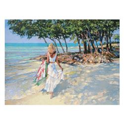 "Howard Behrens (1933-2014), ""My Beloved"" Limited Edition on Canvas, Numbered and Signed with COA."