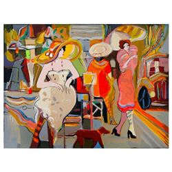 "Isaac Maimon, ""Elite Boulevard"" Limited Edition Serigraph, Numbered and Hand Signed with Letter of A"