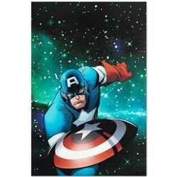 "Marvel Comics ""Captain America and the Korvac Saga #1"" Numbered Limited Edition Giclee on Canvas by"