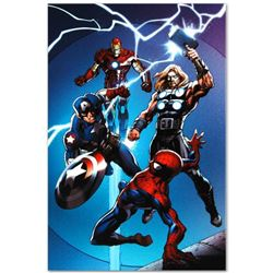 "Marvel Comics ""Ultimate Spider-Man #157"" Numbered Limited Edition Giclee on Canvas by Mark Bagley wi"