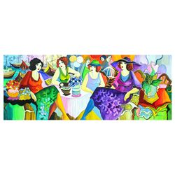 "Patricia Govezensky- Original Watercolor ""Party"""