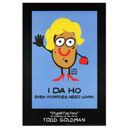 """I-DA-HO"" Collectible Lithograph (24"" x 36"") by Renowned Pop Artist Todd Goldman."