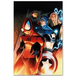 """Marvel Comics """"Ultimate Spider-Man #151"""" Numbered Limited Edition Giclee on Canvas by David Lafuente"""