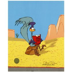 """""""The Neurotic Coyote"""" Sold Out. Limited Edition Animation Cel with Hand Painted Color. Numbered and"""