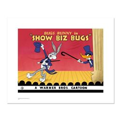 """""""Show Biz Bugs"""" Limited Edition Giclee from Warner Bros., Numbered with Hologram Seal and Certificat"""