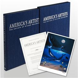 """""""America's Artists: The Artists of Wyland Galleries"""" (2004) Limited Edition Collector's Fine Art Boo"""