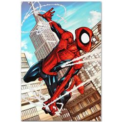 """Marvel Comics """"Marvel Adventures: Spider-Man #50"""" Numbered Limited Edition Giclee on Canvas by Patri"""