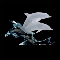 """Kitty Cantrell, """"Eternity"""" Limited Edition Mixed Media Lucite Sculpture with COA."""