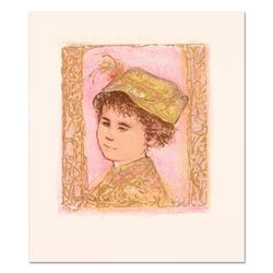 """Edna Hibel (1917-2014), """"Happy"""" Limited Edition Lithograph with Remarque, Numbered and Hand Signed w"""