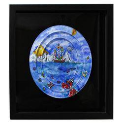 "Eugene Poliarush- Original Acrylic Painting on Acrylic ""Winter """