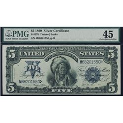 1899 $5 Chief Silver Certificate PMG 45