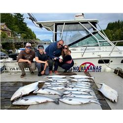 (2) full days of salmon/halibut fishing for up to three people in Bamfield, BC