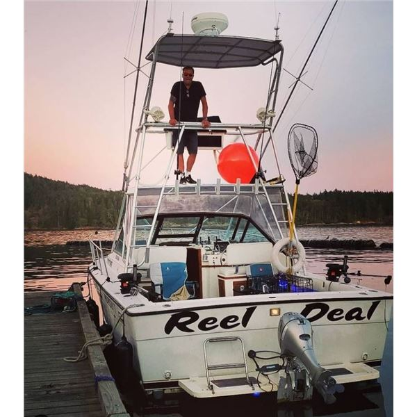 4 person fishing experience Jul/August 2021 with Sea Fun Adventures
