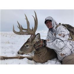 4 Day Alberta Whitetail Deer Hunt