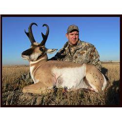 3 day Alberta Antelope Hunt for (1) hunter