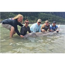 2021 Jurassic Classic Fundraiser - Sturgeon Fishing Experience - Entry for (2) people