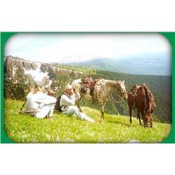 3 day- (2) person Wilderness Horseback Alpine Trip