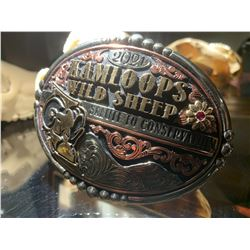 Custom 2021 Kamloops Wild Sheep Salute to Conservation Belt Buckle