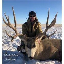 4 Day Alberta Mule Deer Hunt