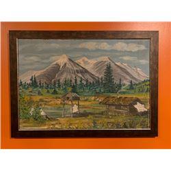 Frank Golata Original Painting