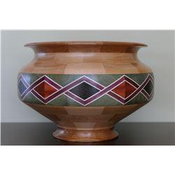 "Custom handmade 11.5"" wide x 8"" tall wood bowl"