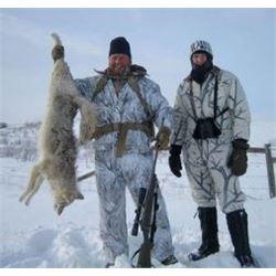 3 day Alberta Coyote Hunt