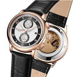 GAMAGES OF LONDON Limited Edition Hand Assembled Mystique Automatic Silver
