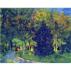 Van Gogh - Allee In The Park