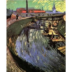 Van Gogh - Canal With Women Washing