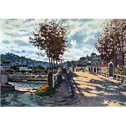 Claude Monet - The Seine at Bougival