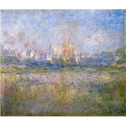 Claude Monet - Vetheuil in the Fog