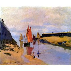 Claude Monet - Port of Trouville