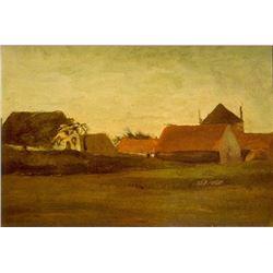 Van Gogh - Farmhouses