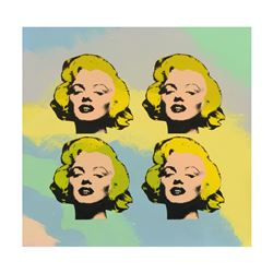 4 Marilyn Monroes by Steve Kaufman (1960-2010)