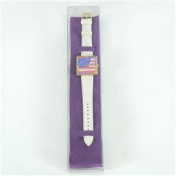 Peter Max Watch (American Flag) by Peter Max