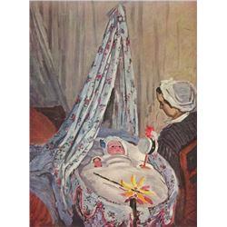 Claude Monet - Jean Monet in the Cradle
