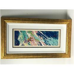 """""""Downhill Skier"""" by LeRoy Neiman (1921-2012)"""