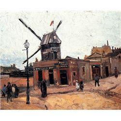Van Gogh - Le Moulin De La Galette 6