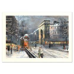 La Porte St Denis by Rivera, Antonio
