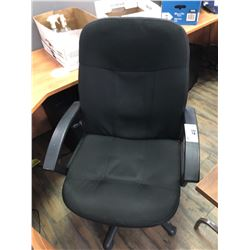 BLACK MOBILE OFFICE CHAIR