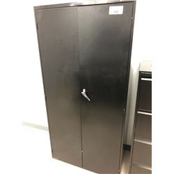 BLACK GLOBAL 2 DOOR CABINET