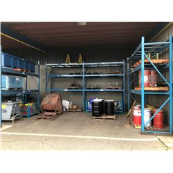 ARPAC 4 SECTION PALLET RACKING